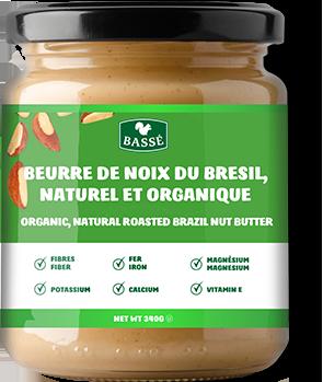 Ezra Cohen Montréal beurre de noix du Brésil rôti naturel biologique
